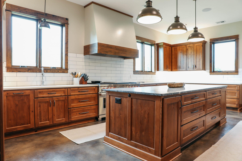 Dickson Barn Simple Elegant Kitchen